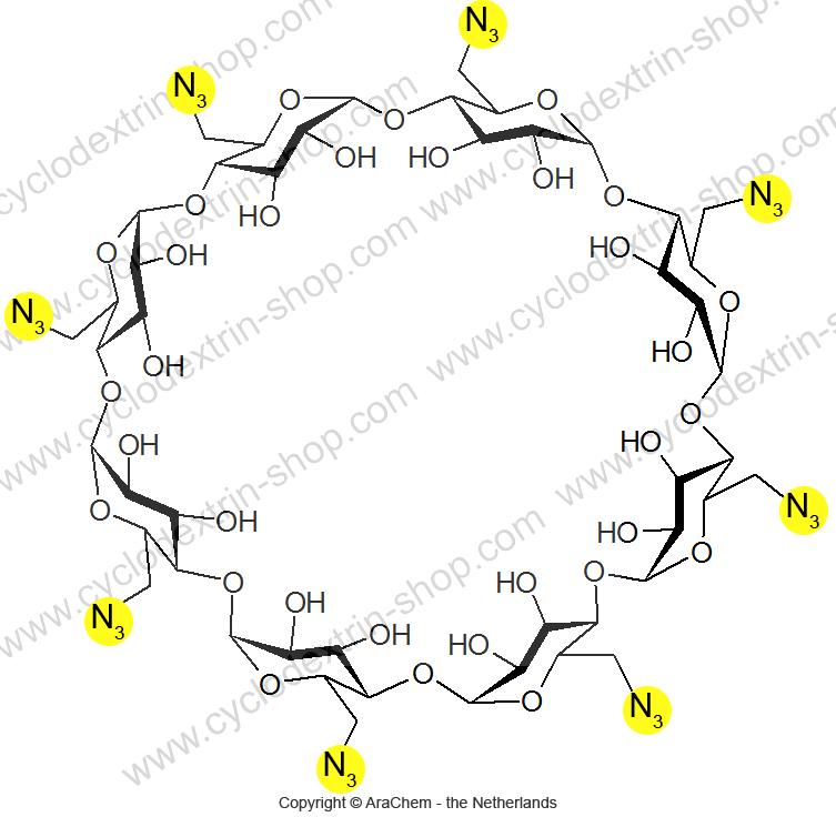 Octakis-(6-azido-6-deoxy)-gamma-Cyclodextrin