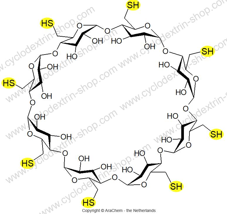 Octakis-(6-deoxy-6-thio)-gamma-Cyclodextrin