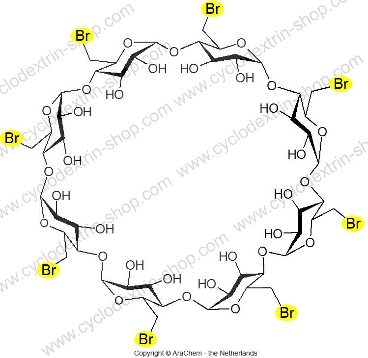 Octakis-(6-bromo-6-deoxy)-gamma-Cyclodextrin