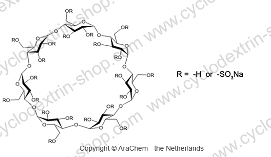 Beta-Cyclodextrin sulfate sodium salt