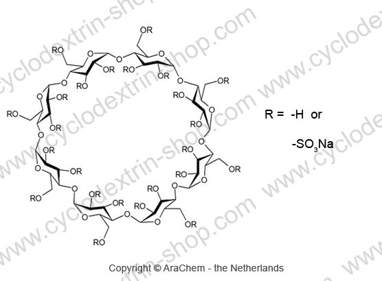 Gamma-Cyclodextrin sulfate sodium salt