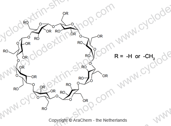 Methyl‐gamma‐Cyclodextrin, RAMEGCD