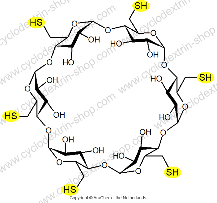 Hexakis-(6-deoxy-6-thio)-alpha-Cyclodextrin