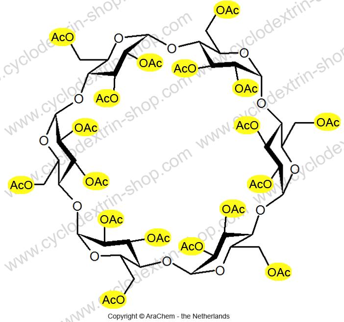 Hexakis-(2,3,6-tri-O-acetyl)-alpha-Cyclodextrin