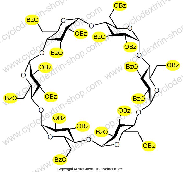 Hexakis-(2,3,6-tri-O-benzoyl)-alpha-Cyclodextrin