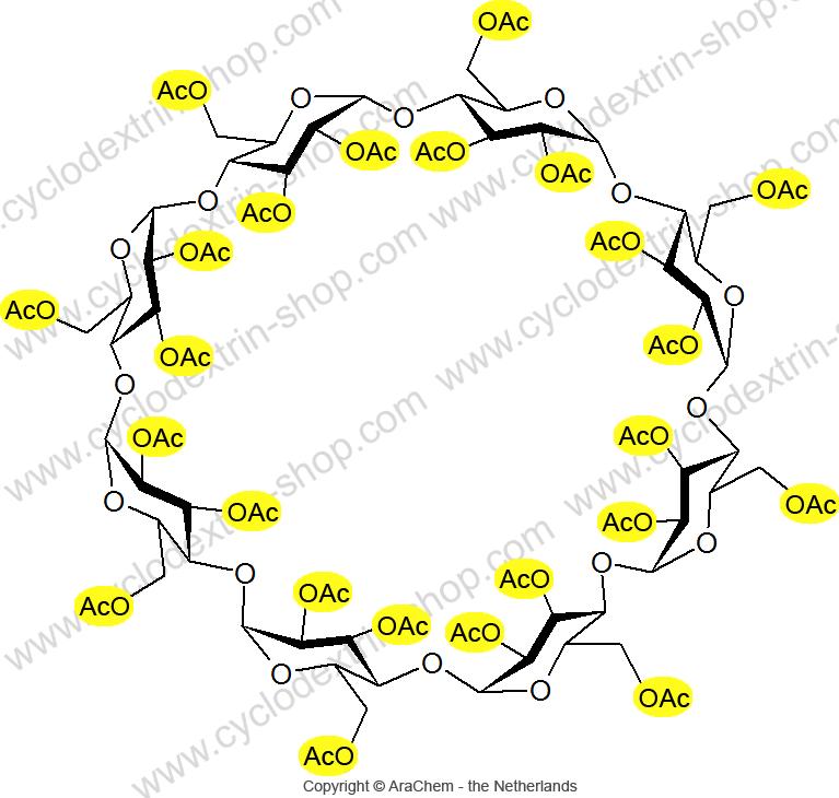 Octakis-(2,3,6-tri-O-acetyl)-gamma-Cyclodextrin