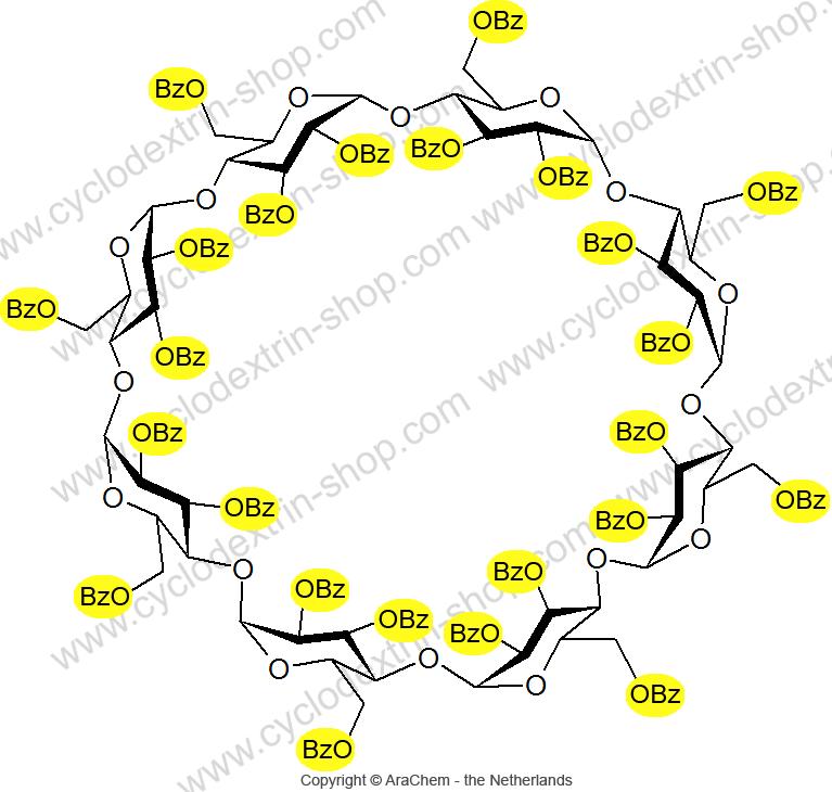 Octakis-(2,3,6-tri-O-benzoyl)-gamma-Cyclodextrin